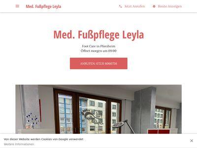 Fusspflege Studio Leyla
