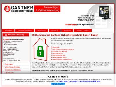 Gantner-Sicherheitstechnik