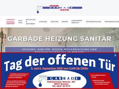 Garbade Gbr. Heizung-Sanitär