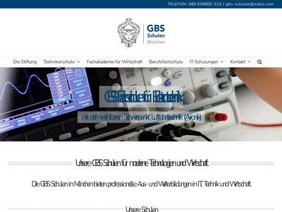 GBS Schulen München