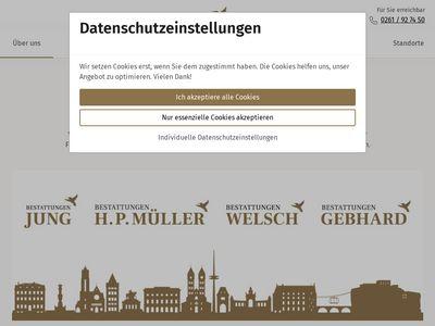 Bestattungen Karl Gebhard