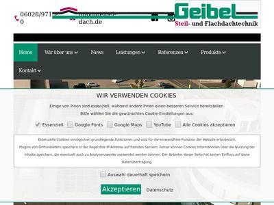 Geibel Steil- und Flachdachtechnik GmbH