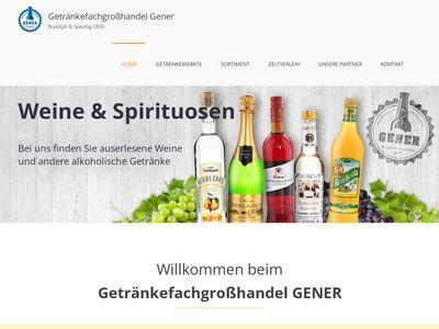 GENER Getränkemarkt