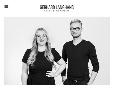 GERHARD LANGHANS Haare + Visagistic