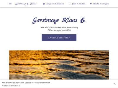 Naturheilpraxis Klaus B. Gerstmayr