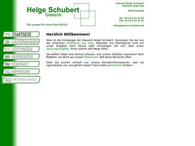 Helge Schubert Glaserei - Innungsbetrieb