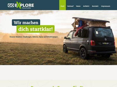 Go Explore Reisemobile