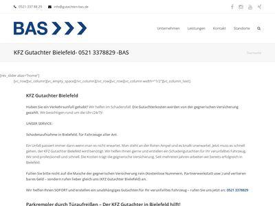 Kfz-Gutachter BAS