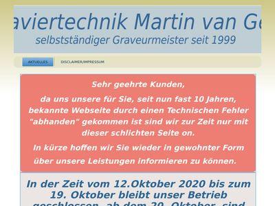 Graviertechnik Martin van Gels