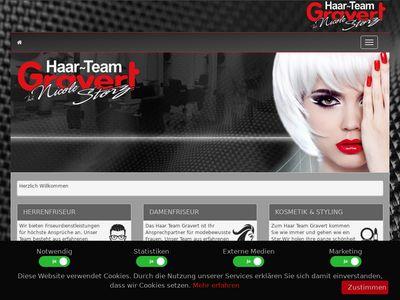 Haar-Team-Gravert Friseur
