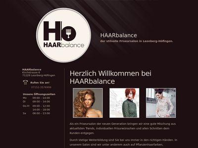 HAARbalance