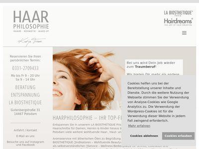 Haarphilosophie - Katja Trowe