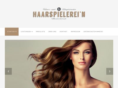 Friseur Haarspielerein