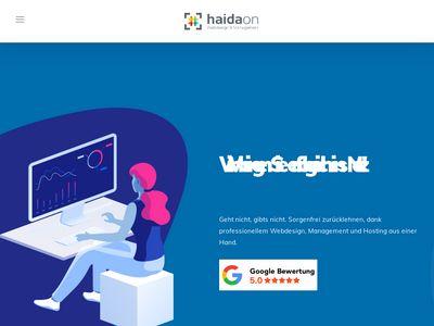 HAIDAon Webdesign