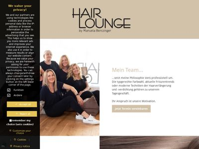 Hair Lounge by Manuela Bentzinger