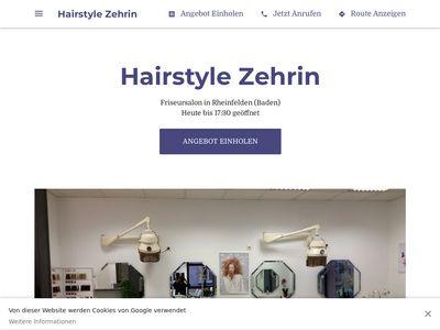 Hairstyle Zehrin