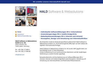 Hald Online