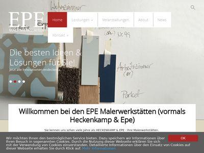 EPE Malerwerkstätten Köln