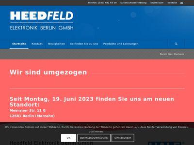 Heedfeld Elektronik Berlin GmbH