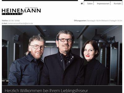 HEINEMANN + FRIENDS FRISEURE