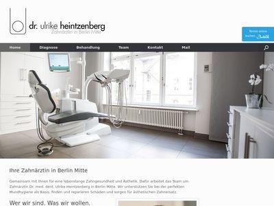 Zahnärztin Dr. Ulrike Heintzenberg