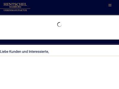 Hentschel Hamburg Uhrenmanufaktur