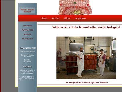 Hermann-Esslingen - Die Metzgerei