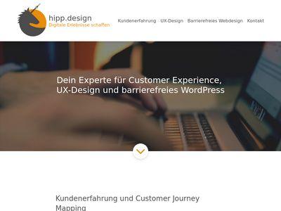Hipp.design - Webdesigner in Stuttgart