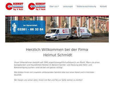Rohr- und Kanalreinigung Schmidt