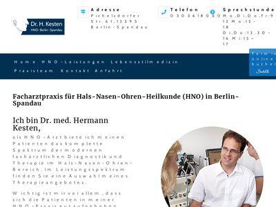 Hermann Kesten Facharzt für HNO - Heil…