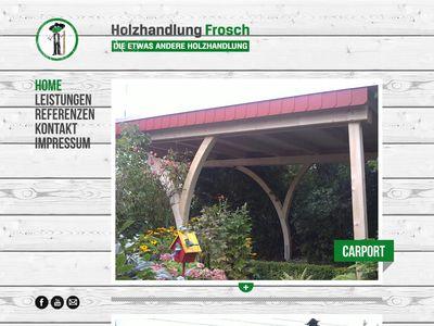 Frosch, Michael Holzhandlung