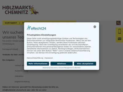 Holzmarkt Chemnitz GmbH & Co. KG