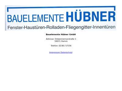 Bauelemente Hübner GmbH