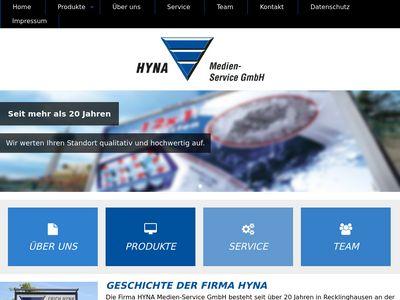 Erich Hyna Metall - und Werbebau - Service e.K.