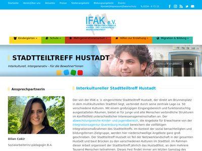Stadtteiltreff Hustadt, IFAK e.V.
