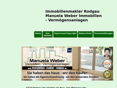 Immobilienmakler Rodgau - Manuela Weber