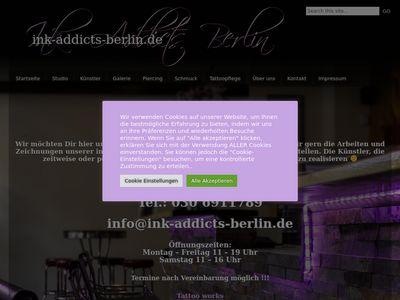 INK Addicts Tattoo Berlin