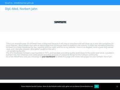 Norbert Jahn Arzt für innere Medizin