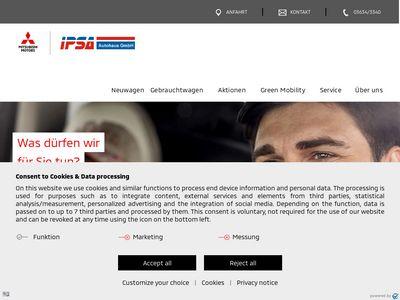 IPSA-Autohaus GmbH - Mitsubishi