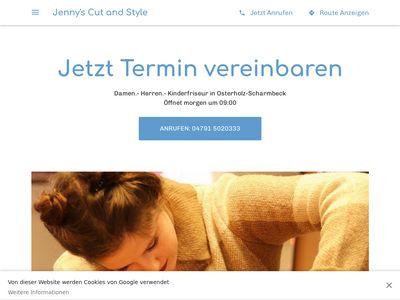 Jennys Cut + Style