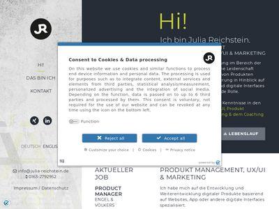 Julia Reichstein Grafik & Web