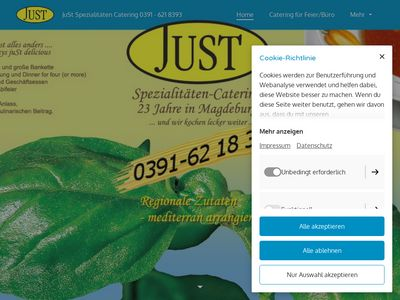 Just Catering Jutta Strehl Catering