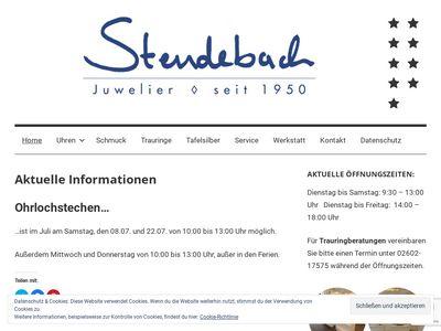 Stendebach Uhren und Schmuck