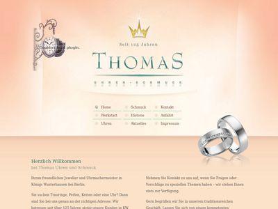 Uhren und Schmuck Thomas