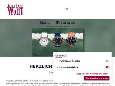 Juwelier Leonhard Wolff