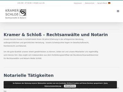 Notarin Schloss, M.