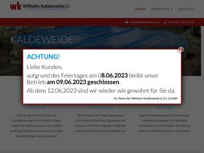 Wilhelm Kaldeweide & Co. GmbH