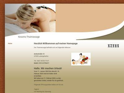Thaimassage Kesorn Scherer