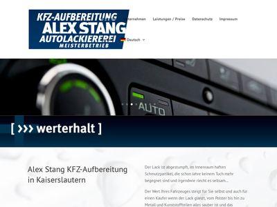 KFZ-Aufbereitung Alex Stang