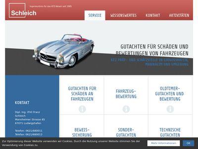 Franz Schleich KFZ- Sachverständiger